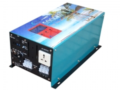 New ATS 5000W LF UPS Pure Sine Wave Power Inverter DC 24V to AC 220V/230V/240V, 80A Charger
