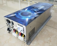 LF 8000W Pure Sine Wave Power Inverter DC 24V to AC 220V/230V/240V, with Battery Charger Function
