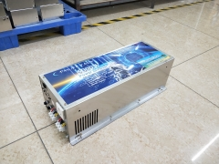 LF 5000W Pure Sine Wave Power Inverter DC 24V to AC 220V/230V/240V,with 80A Charger